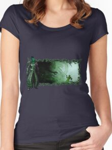 Guild Wars 2 - A sylvari story Women's Fitted Scoop T-Shirt