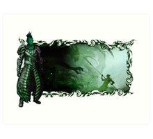 Guild Wars 2 - A sylvari story Art Print