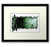 Guild Wars 2 - A sylvari story Framed Print