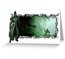 Guild Wars 2 - A sylvari story Greeting Card