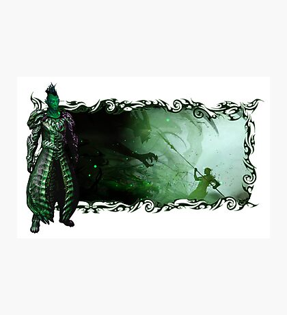 Guild Wars 2 - A sylvari story Photographic Print