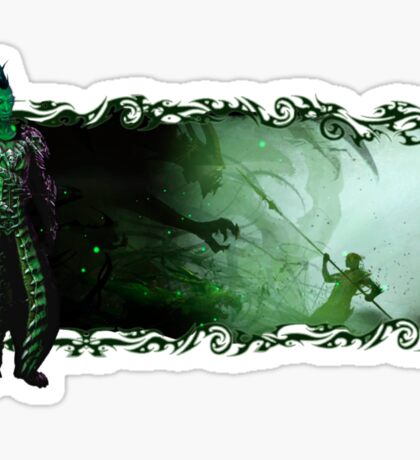Guild Wars 2 - A sylvari story Sticker