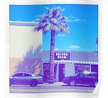 DOWNTOWN PALM TREE AESTHETIC  Poster