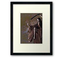 Concubine Mei Lin Framed Print