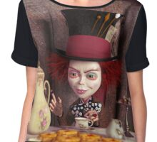 The Hatter - Tea Time Chiffon Top
