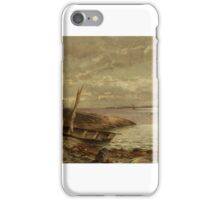 Hjalmar Munsterhjelm () On the Shore Cliffs iPhone Case/Skin