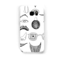 Fractured Facial Features Samsung Galaxy Case/Skin
