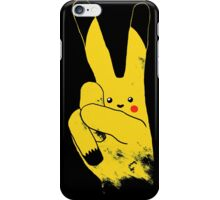 Love Peace and Thundershock iPhone Case/Skin