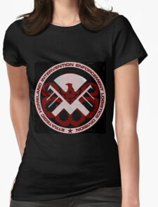 Sheild or Hydra? Womens Fitted T-Shirt