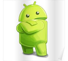 android logo Poster