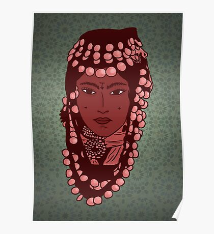 Berber Princess Poster