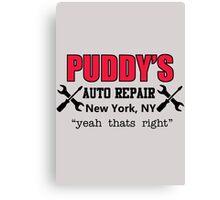 Seinfeld - Puddy's Auto Repair Canvas Print
