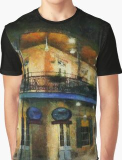 On the Corner of Chartres Graphic T-Shirt