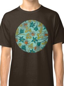 Alpine-Columbine bloom Pattern Classic T-Shirt