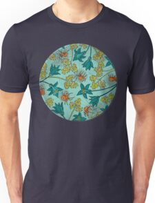 Alpine-Columbine bloom Pattern Unisex T-Shirt