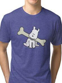 Chubby Snowy Tri-blend T-Shirt
