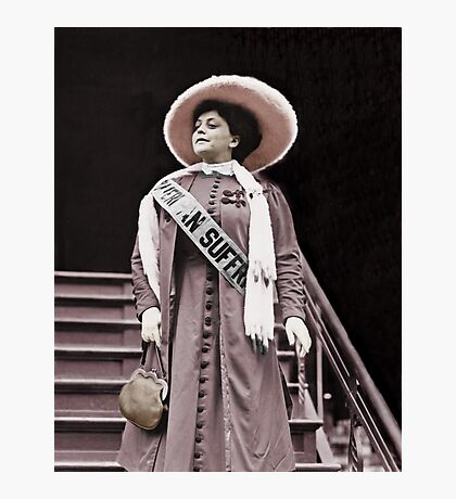 Trixie the Suffragette  Photographic Print
