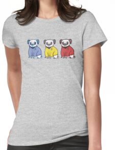 Pug Trek Womens Fitted T-Shirt