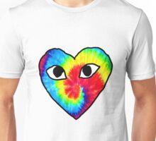 tie dye comme des garcons Unisex T-Shirt