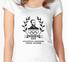General Sherman - Atlanta's Original Torch Bearer Women's Fitted Scoop T-Shirt