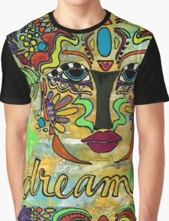 Life Dreams-Ceremonial Mask Graphic T-Shirt