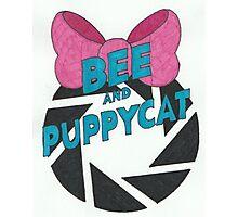 Bee and PortalCat Logo Photographic Print