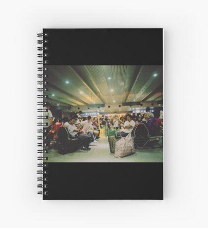 ChineseTrain Spiral Notebook