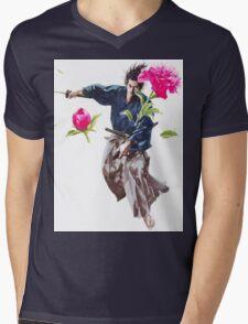 Vagabond #01 Mens V-Neck T-Shirt