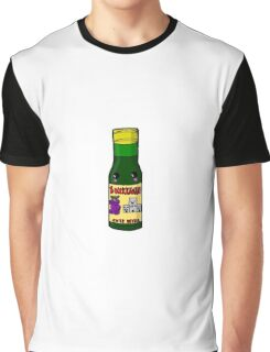 Kawaiibucky (Buckfast) Bottle Glasgow  Graphic T-Shirt
