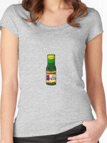 Kawaiibucky (Buckfast) Bottle Glasgow  Women's Fitted Scoop T-Shirt