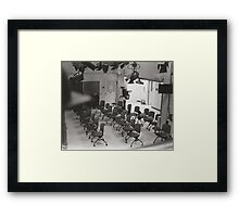 Studio Review Framed Print