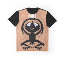 Diamond Eye Sun Dance Rorscharch Creature Graphic T-Shirt
