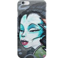 MUralS WOmaN  iPhone Case/Skin