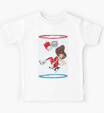 Bee and PortalCat Kids Tee