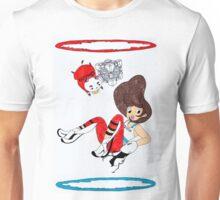 Bee and PortalCat Unisex T-Shirt