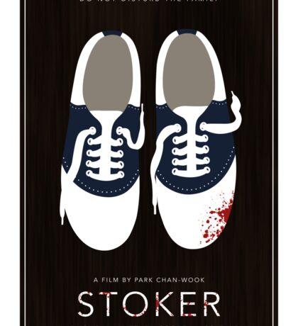 Stoker film poster Sticker