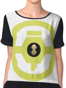 Eternal Cartel Guild Logo Chiffon Top