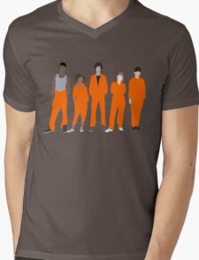 Misfits Mens V-Neck T-Shirt