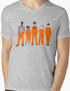 Misfits Mens V-Neck T-Shirt