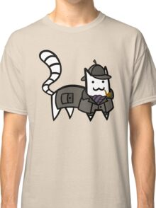 Detective Cat Classic T-Shirt