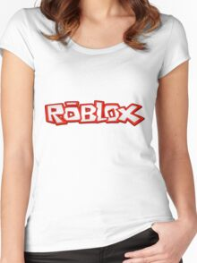 Roblox Title Women's Fitted Scoop T-Shirt