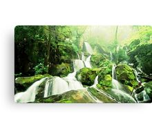 River Painting Canvas Print
