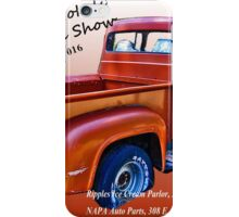 Local Yokels' Car Show Poster iPhone Case/Skin