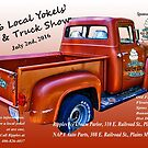 Local Yokels' Car Show Poster by Bryan D. Spellman