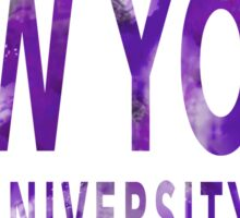 New York University Sticker