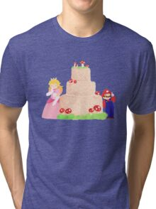 Smash Food - Toadstool Cake Tri-blend T-Shirt