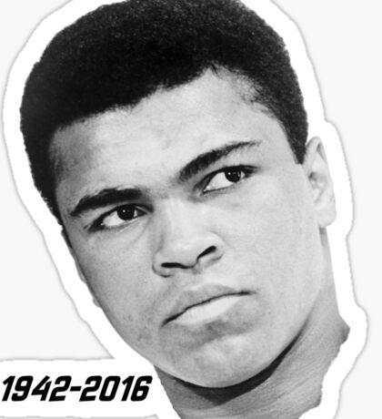 Muhammed Ali RIP Sticker