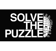 Solve the Puzzle Hellraiser Photographic Print