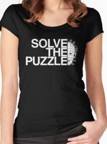 Solve the Puzzle Hellraiser Women's Fitted Scoop T-Shirt