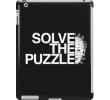 Solve the Puzzle Hellraiser iPad Case/Skin